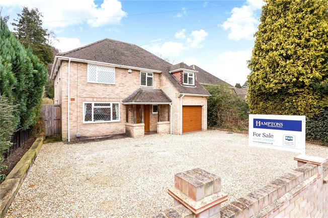 Guide Price £800,000, 4 Bedroom Detached House For Sale in Hampshire, GU14