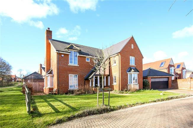 Guide Price £830,000, 5 Bedroom Detached House For Sale in Hook, RG27