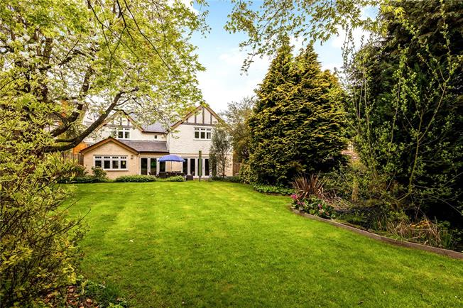 Offers in the region of £1,100,000, 5 Bedroom Detached House For Sale in Hook, Hampshire, RG27