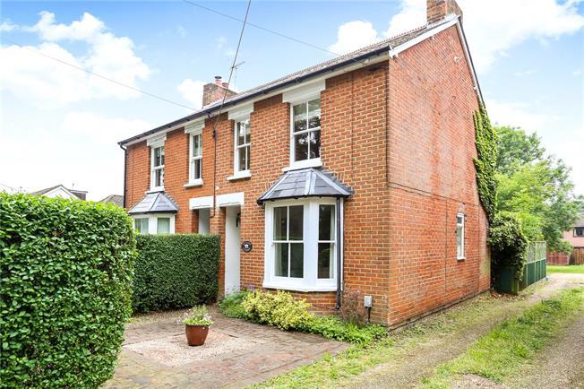 Guide Price £415,000, 2 Bedroom Semi Detached House For Sale in Fleet, GU52