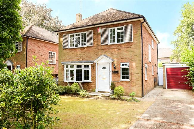 Guide Price £525,000, 4 Bedroom Detached House For Sale in Fleet, GU51