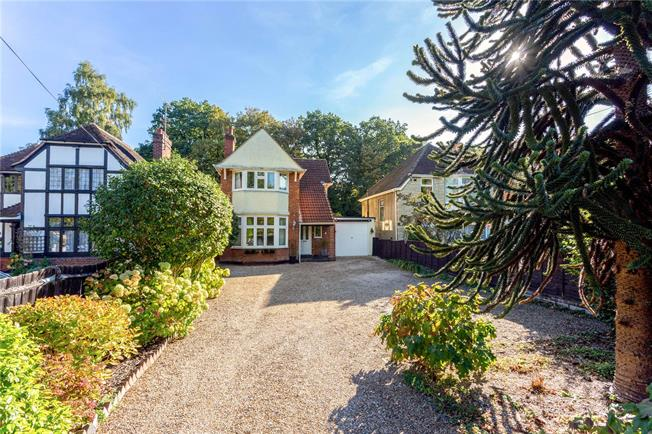 Offers in excess of £525,000, 3 Bedroom Detached House For Sale in Farnborough, GU14
