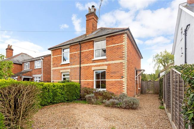 Guide Price £500,000, 3 Bedroom Semi Detached House For Sale in Hampshire, GU51