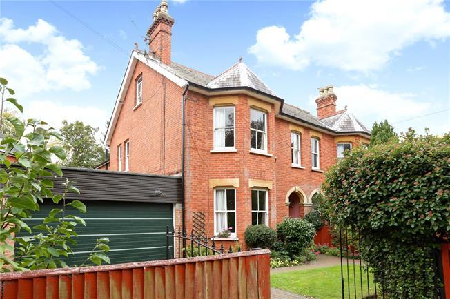 Guide Price £625,000, 4 Bedroom Semi Detached House For Sale in Farnborough, GU14