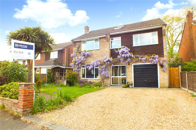 Guide Price £695,000, 5 Bedroom Detached House For Sale in Hampshire, GU14