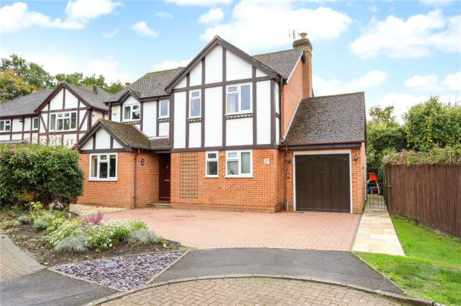 Guide Price £625,000, 4 Bedroom Detached House For Sale in Church Crookham, GU52