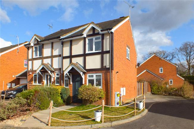 Guide Price £310,000, 2 Bedroom Semi Detached House For Sale in Church Crookham, GU52