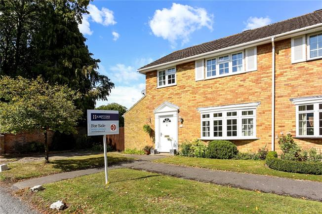 Guide Price £425,000, 3 Bedroom House For Sale in Crookham Village, GU51