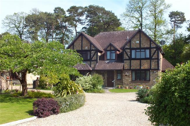 Guide Price £780,000, 5 Bedroom House For Sale in Church Crookham, GU52