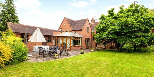 Asking Price £975,000, 5 Bedroom Detached House For Sale in Hook, RG27