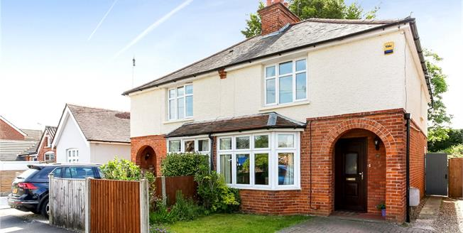 Asking Price £380,000, 3 Bedroom Semi Detached House For Sale in Fleet, GU51