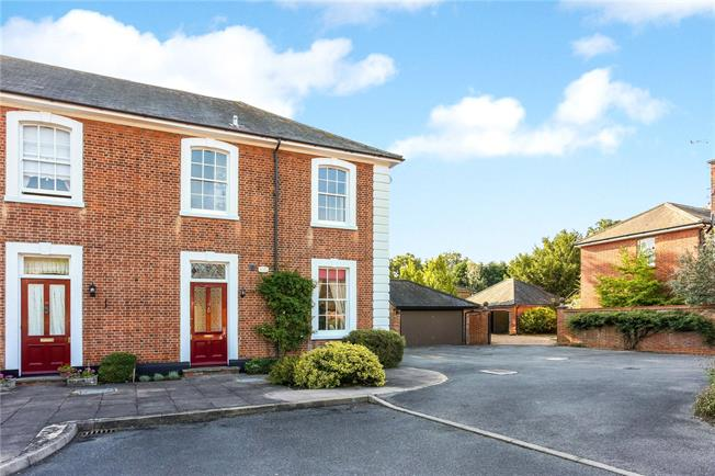 Guide Price £725,000, 3 Bedroom End of Terrace House For Sale in Winchfield, RG27