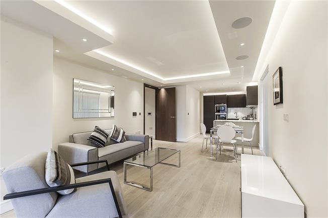 Asking Price £849,500, 1 Bedroom Flat For Sale in London, SW6