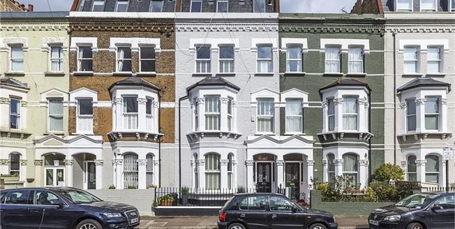 Asking Price £2,595,000, 6 Bedroom House For Sale in London, SW6