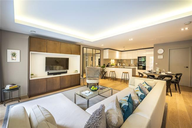 Asking Price £1,250,000, 1 Bedroom Flat For Sale in London, SW6
