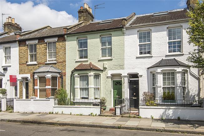 Asking Price £805,000, 3 Bedroom Terraced House For Sale in London, W6