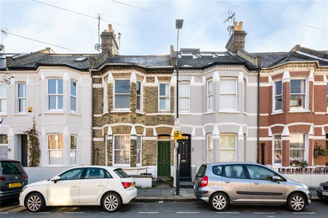 Asking Price £1,250,000, 4 Bedroom Terraced House For Sale in London, SW6
