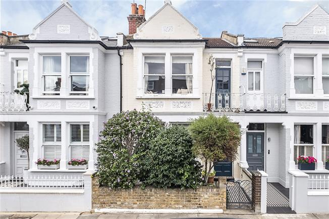 Asking Price £1,550,000, 4 Bedroom Terraced House For Sale in London, SW6