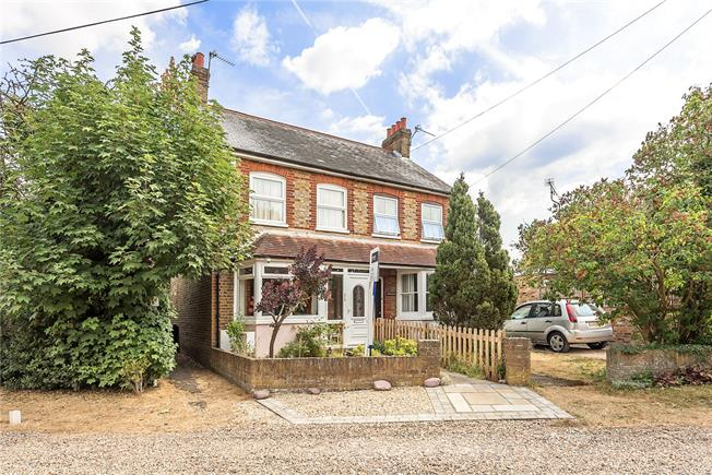 Guide Price £595,000, 3 Bedroom Semi Detached House For Sale in Chalfont St. Peter, SL9