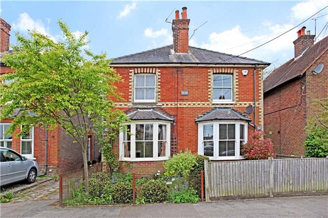 Guide Price £425,000, 2 Bedroom Semi Detached House For Sale in Godalming, Surrey, GU8