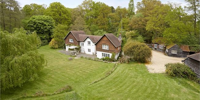 Guide Price £1,700,000, 5 Bedroom Detached House For Sale in Godalming, Surrey, GU8