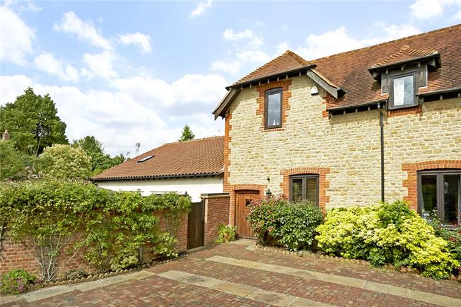Guide Price £800,000, 3 Bedroom Semi Detached House For Sale in Busbridge, Godalming, GU7