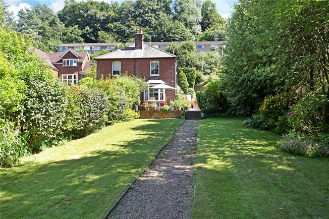 Guide Price £575,000, 3 Bedroom Semi Detached House For Sale in Godalming, GU7