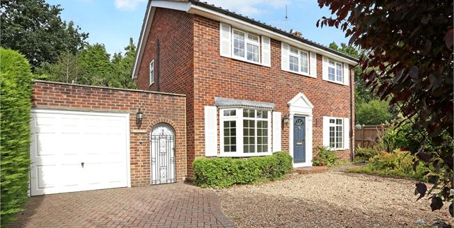 Guide Price £600,000, 4 Bedroom Detached House For Sale in Wormley, GU8