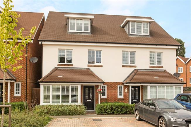 Asking Price £619,000, 4 Bedroom Semi Detached House For Sale in Godalming, GU7