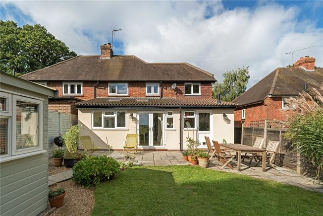 Guide Price £599,950, 4 Bedroom Semi Detached House For Sale in Thursley, GU8