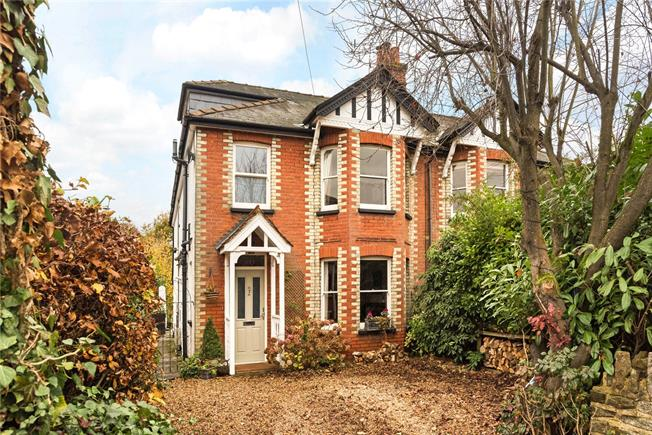 Guide Price £820,000, 4 Bedroom Semi Detached House For Sale in Godalming, GU7
