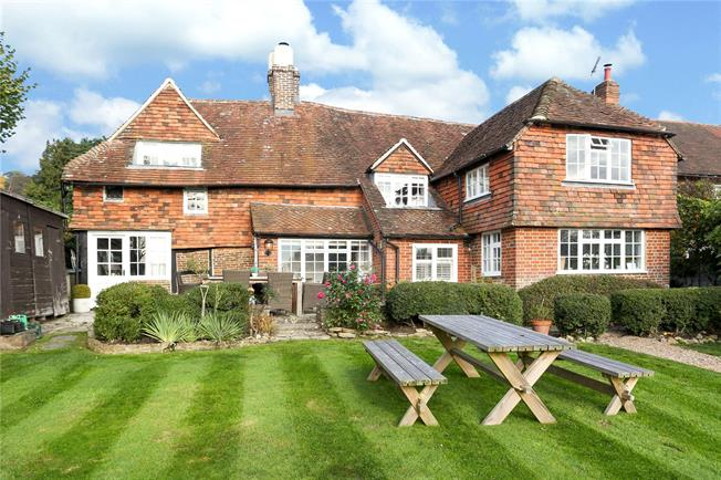 Guide Price £1,150,000, 4 Bedroom Detached House For Sale in Wormley, GU8