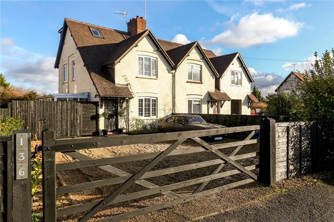 Guide Price £449,500, 3 Bedroom Semi Detached House For Sale in Surrey, GU7