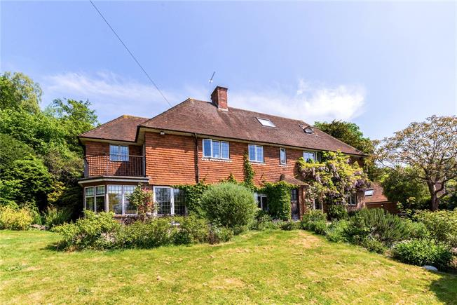 Guide Price £1,750,000, 5 Bedroom Detached House For Sale in Godalming, Surrey, GU8