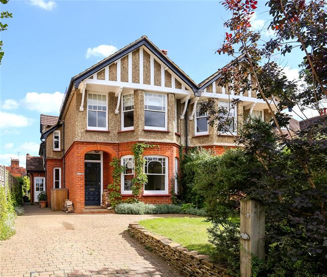 Guide Price £825,000, 4 Bedroom Semi Detached House For Sale in Godalming, GU7