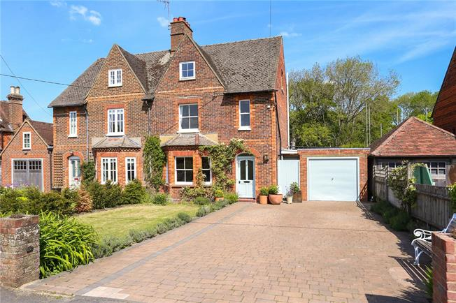 Guide Price £750,000, 3 Bedroom Semi Detached House For Sale in Godalming, Surrey, GU8