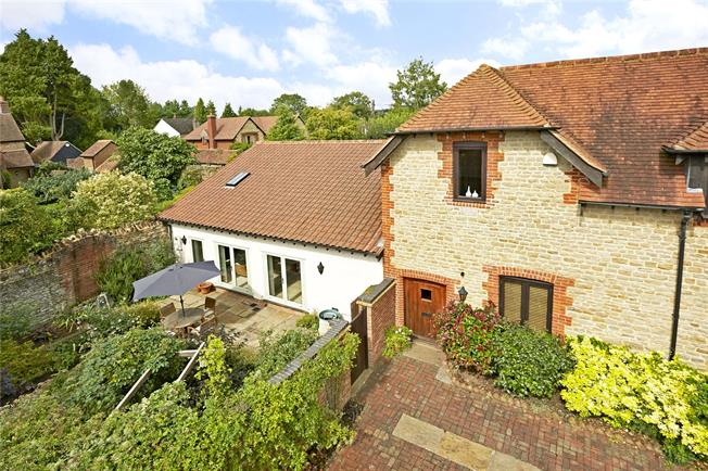 Guide Price £800,000, 3 Bedroom Semi Detached House For Sale in Busbridge, Godalming, GU7