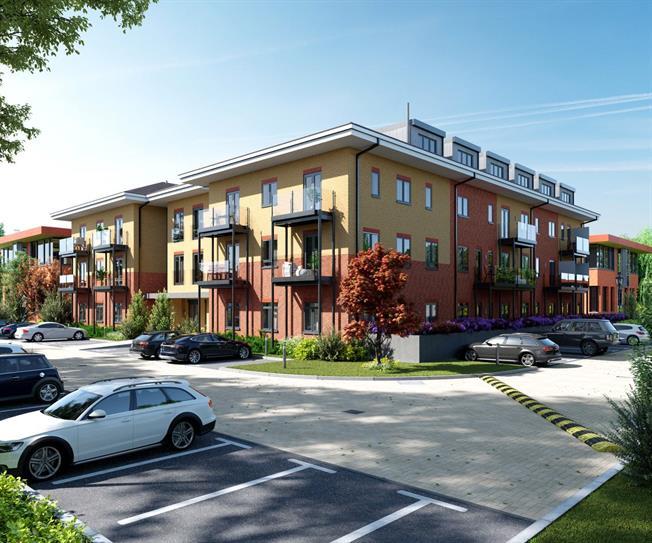 Asking Price £385,000, 2 Bedroom Flat For Sale in Godalming, Surrey, GU7