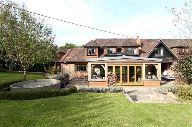 Guide Price £925,000, 5 Bedroom Semi Detached House For Sale in Godalming, Surrey, GU8