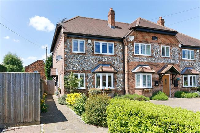 Guide Price £550,000, 4 Bedroom Semi Detached House For Sale in Naphill, HP14