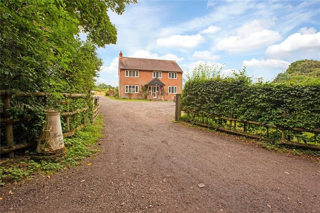Guide Price £1,100,000, 4 Bedroom Detached House For Sale in Naphill, HP14