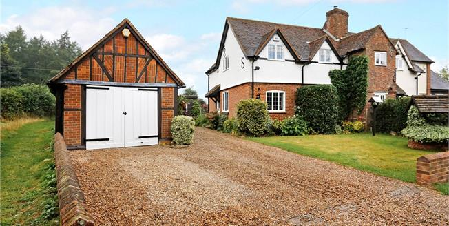 Guide Price £850,000, 4 Bedroom Semi Detached House For Sale in Buckinghamshire, HP16