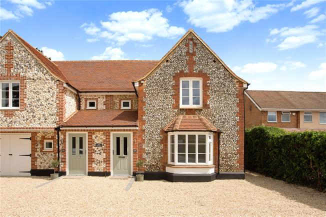 Guide Price £699,950, 4 Bedroom Semi Detached House For Sale in Great Missenden, Buckingh, HP16