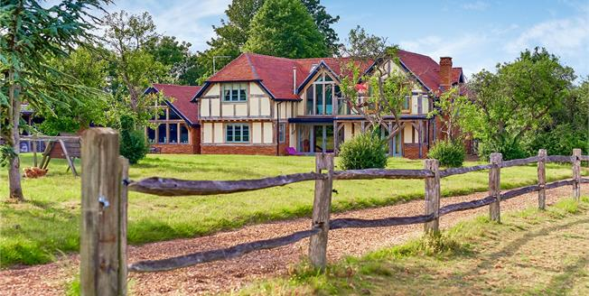 Offers in excess of £3,000,000, 6 Bedroom Detached House For Sale in West Horsley, KT24