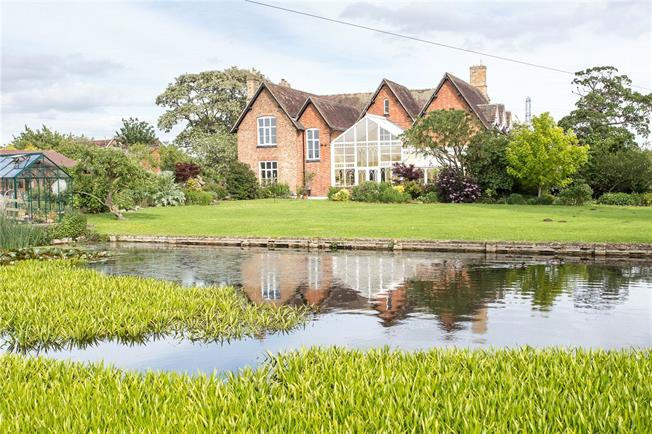 Guide Price £1,100,000, 7 Bedroom Detached House For Sale in Little Washbourne, GL20
