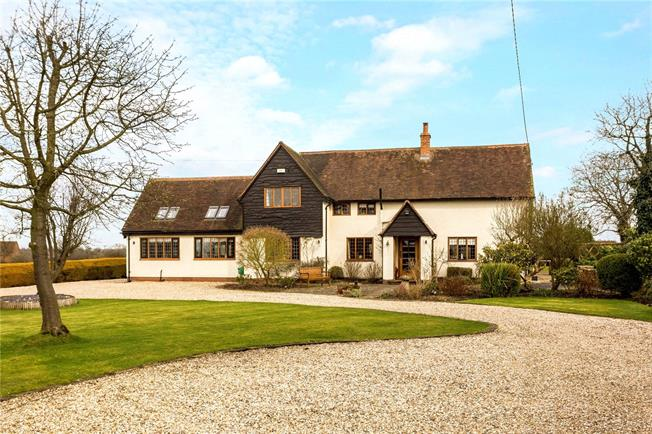 Guide Price £1,400,000, 4 Bedroom Detached House For Sale in Lowsonford, B95