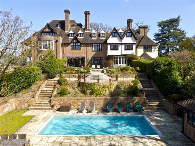 Offers in excess of £2,500,000, 6 Bedroom Terraced House For Sale in Weybridge, KT13