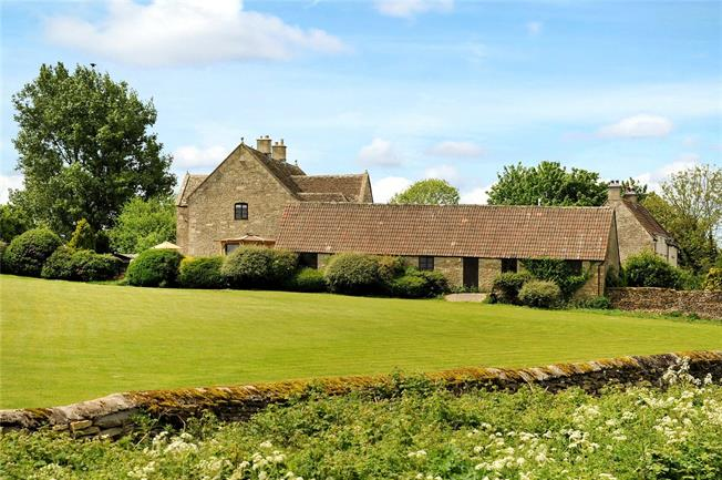 Guide Price £1,150,000, 4 Bedroom Detached House For Sale in Badminton, Gloucestershir, GL9