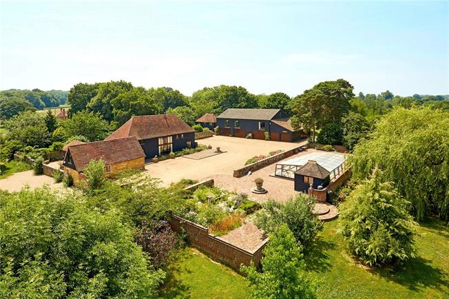 Asking Price £1,500,000, 7 Bedroom Detached House For Sale in Hurst Green, TN19