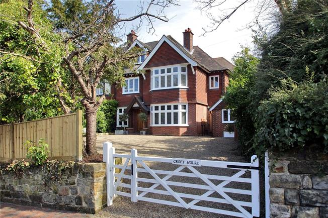 Asking Price £1,495,000, 5 Bedroom Semi Detached House For Sale in Tunbridge Wells, TN2